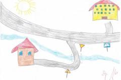 Bezpieczna droga do szkoły - prace