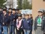 Harcerze z 17 Drużyny Harcerskiej na rocznicy Akcji pod Arsenałem