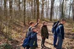 Nasi harcerze na Męskich Manewrach terenowych Hufca ZHP Kolbuszowa