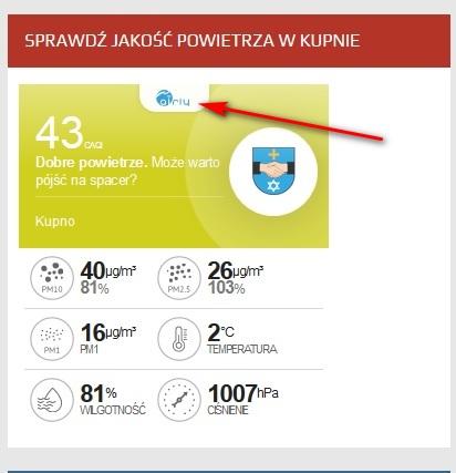 Sprawdź jakość powietrza w Kupnie!