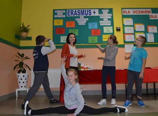 Program Erasmus + w naszej szkole!