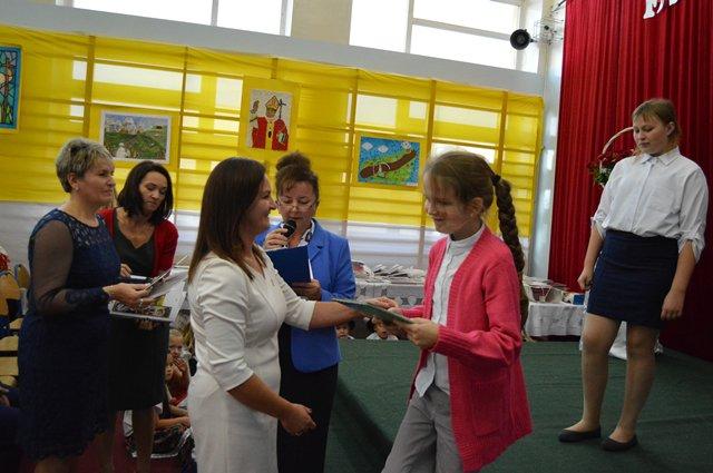 Sukcesy uczniów II klasy na Festiwalu Papieskim