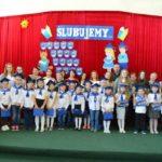 Pasowanie na ucznia – święto klasy I