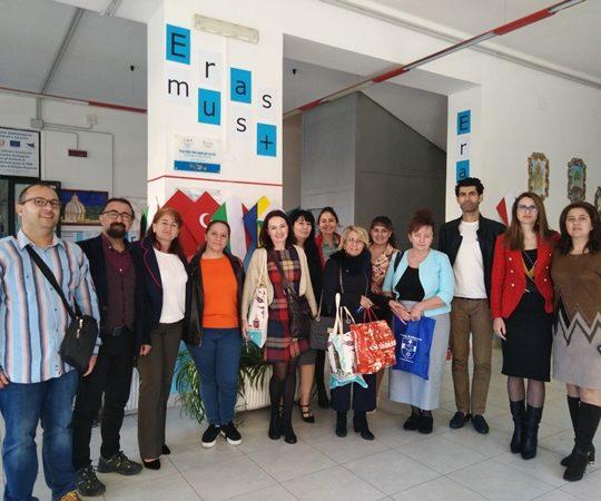 Erasmus + projekt współpracy międzynarodowej  w naszej szkole