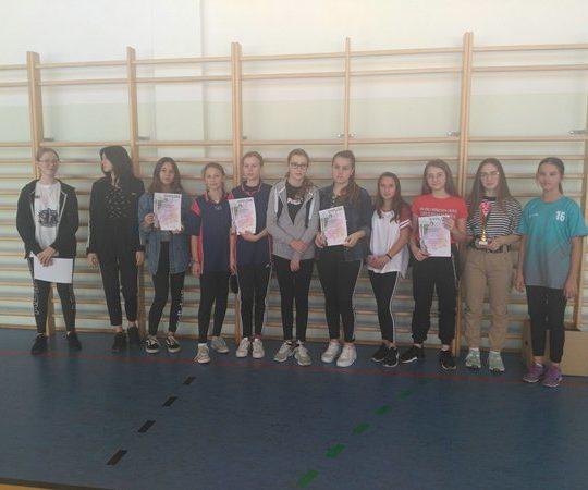 Gminny Tenis  Stołowy  klas ósmych –  dziewczęta