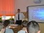 Spotkanie z pilotem - Konrad Mazur - absolwent naszego Gimnazjum