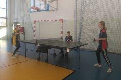 Gminny tenis stołowy klas ósmych - dziewczęta