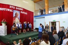 XVII Gminny Festiwal Papieski w naszej szkole