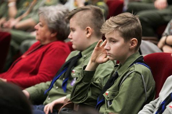 Harcerze na Sejmiku Województwa Podkarpackiego