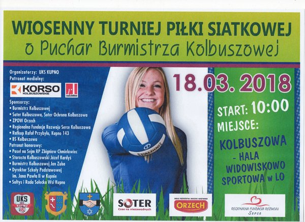 UKS Kupno zaprasza na Turniej!