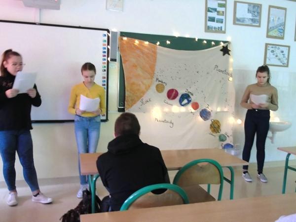 Kosmiczni wędrowcy – klasa VI