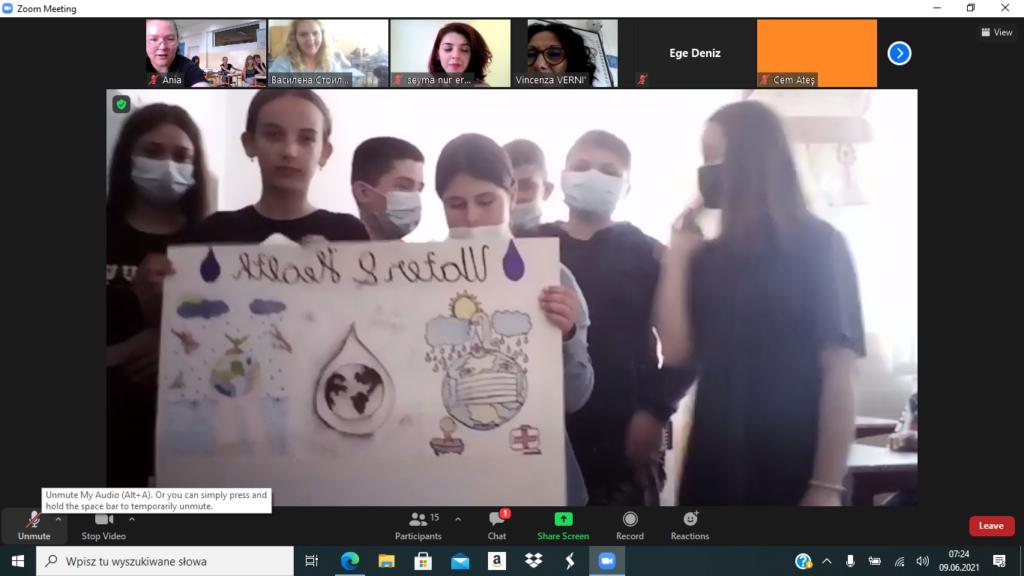 Działania w projekcie Erasmus+