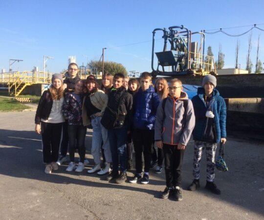 Wycieczka do oczyszczalni ścieków i Nadleśnictwa Kolbuszowa